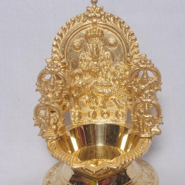 Angalamman Vilakku Brass Metal Statue Srivadivelavanmetals